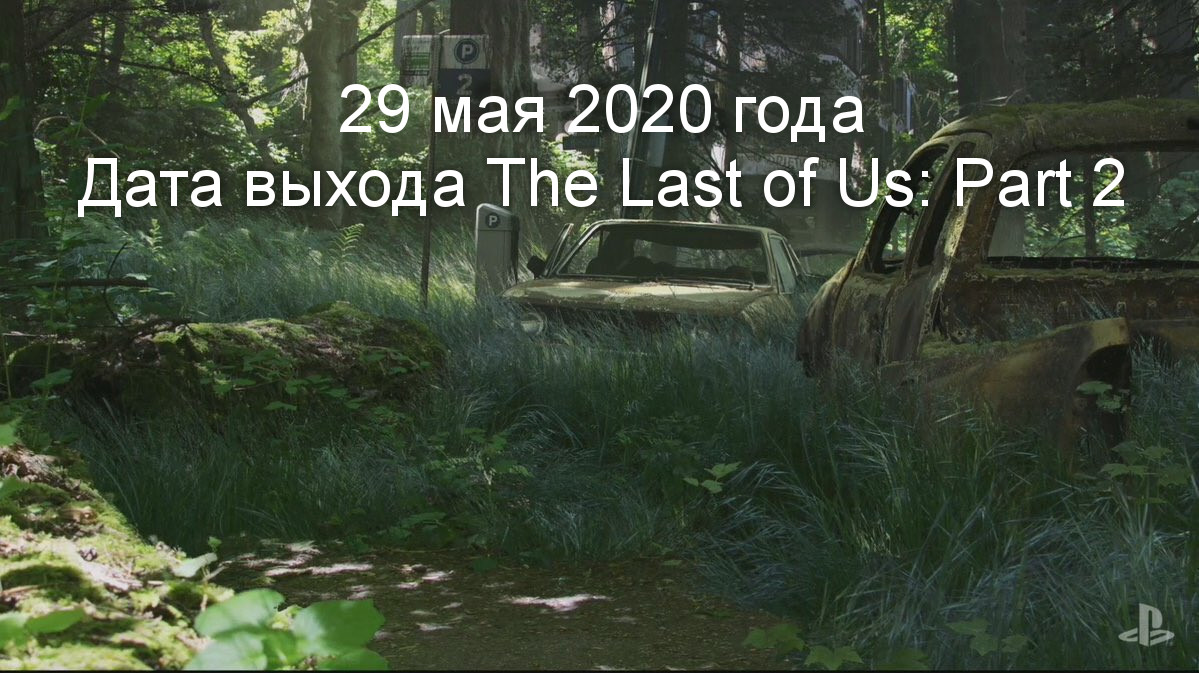 Дата выхода The Last of Us: Part 2 - 2019 год